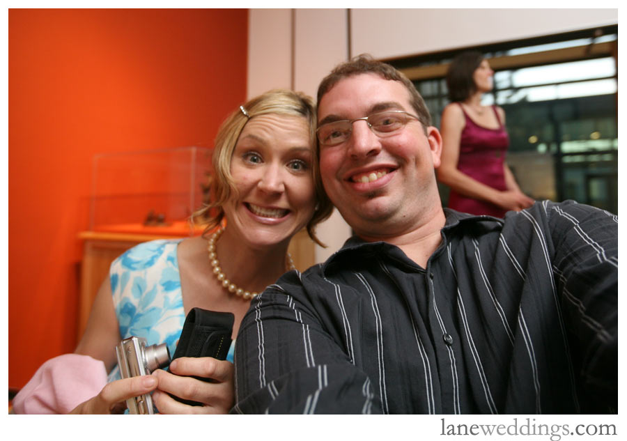 Liz and I during the rehearsal dinner.