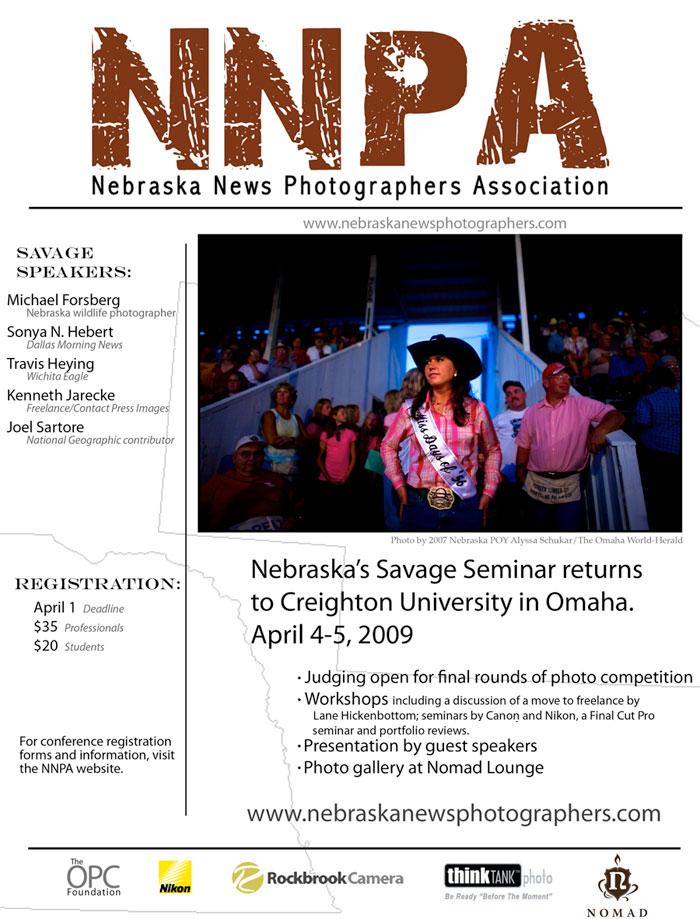 Nebraska News Photographers Association 2009 Savage Seminar