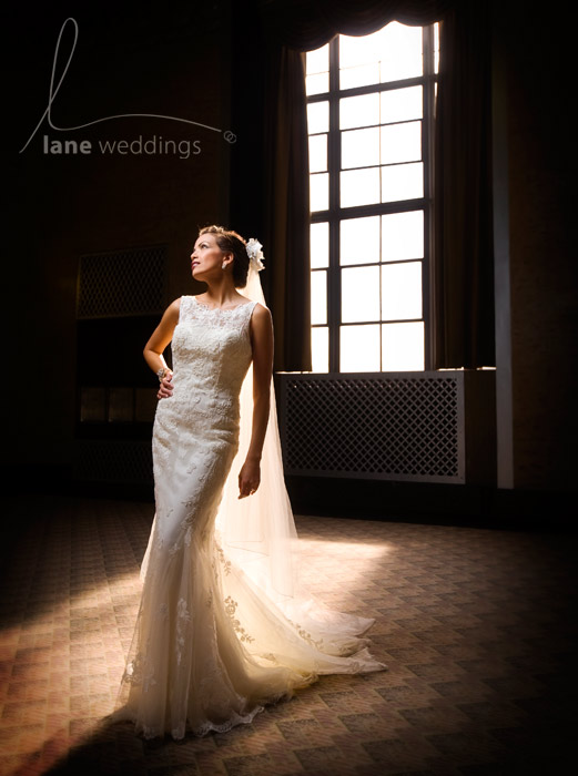 Bridal fashion photo by Lane Weddings