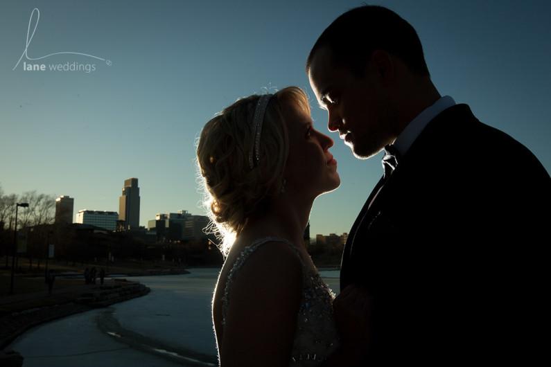 Heartland Of America Park wedding Omaha