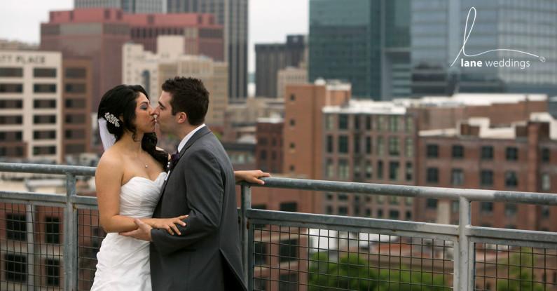 downtown Omaha wedding