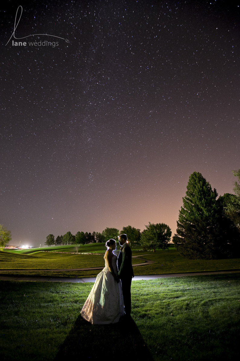 Milky Way Wedding