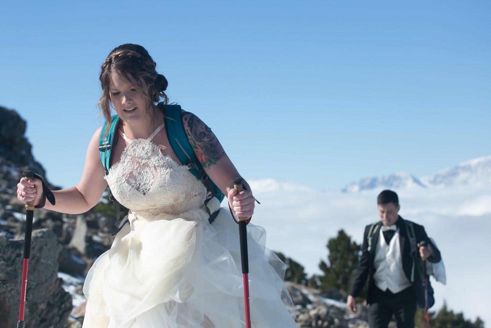 Arrance, Colorado, Estes Park, Liddell, Lindsay, Peak, Peaks, Thomas, Tom, Twin Sisters, autumn, destination, hike, snow, wedding