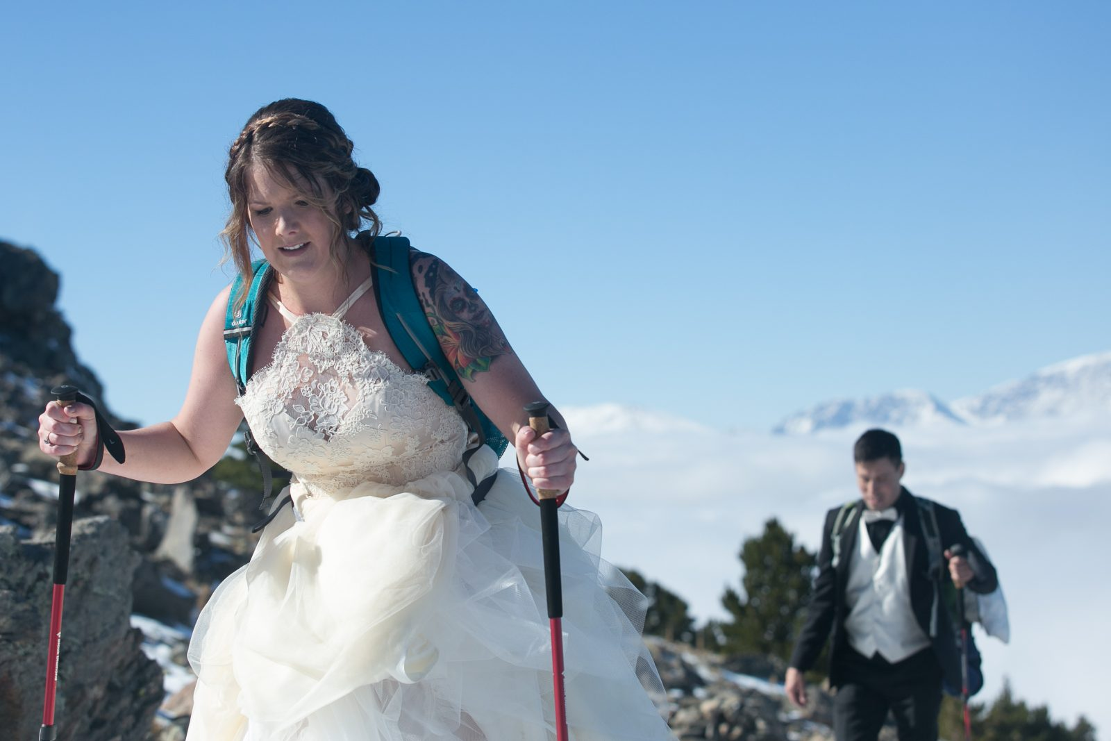 Arrance, Colorado, Estes Park, Liddell, Lindsay, Peak, Peaks, Thomas, Tom, Twin Sisters, autumn, destination, hike, snow, wedding