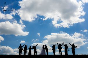 Cloudy-Sky-Wedding-Party